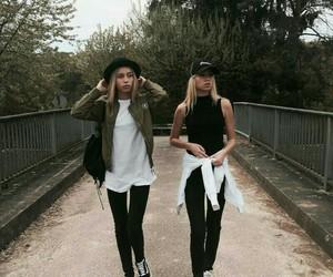 girl, twins, and lisa and lena image