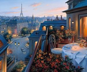 paris, city, and romantic image