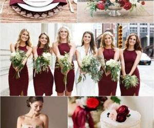 wedding, свадьба, and marsala image