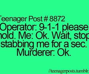 teenager post and green image