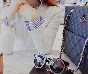 bag, lovely, and chanel image