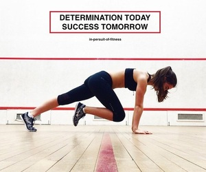 fitness, exercise, and goals image