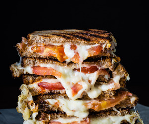 cheese, vegetarian, and food image