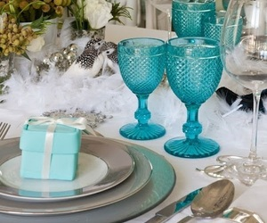 Breakfast at Tiffany's, turquoise, and tiffany image
