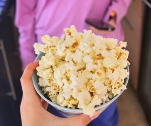 popcorn, food, and tumblr image