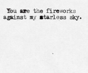 fireworks, book, and sky image