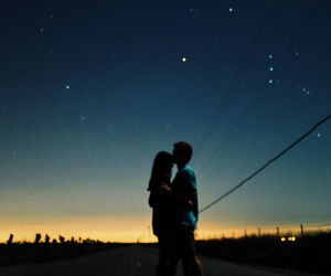 stars, couple, and goals image