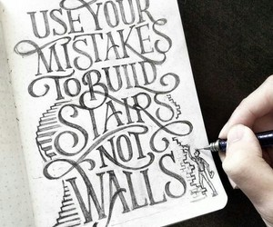 calligraphy, quotes, and Dream image