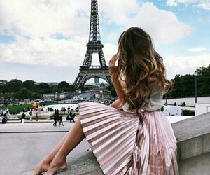 alternative, eiffel tower, and girl image
