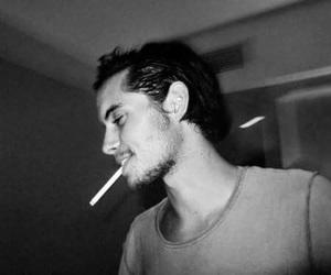 boy, cigarette, and handsome image