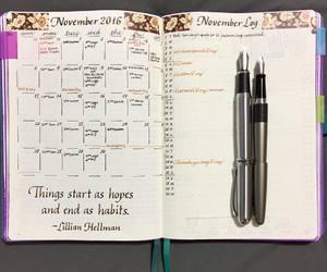 motivation, organization, and planner image