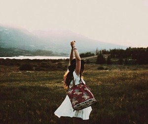 fashion, forest, and freedom image
