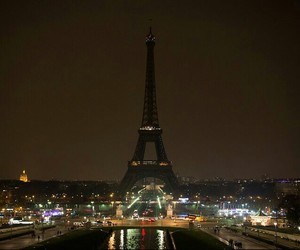 eiffel tower, paris, and france image