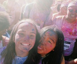 powder, capetown, and thecolorrun image