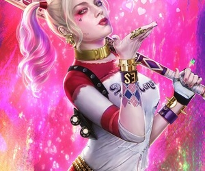 harley quinn, suicide squad, and dc comics image