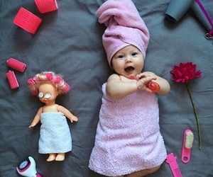 baby and pretty image