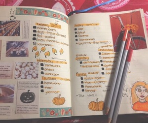 bujo, studyspo, and bullet journal image