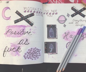 positivity, bujo, and bullet journal image