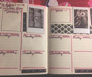 planner, studyspo, and bullet journal image