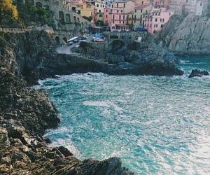 cliff, Houses, and italy image