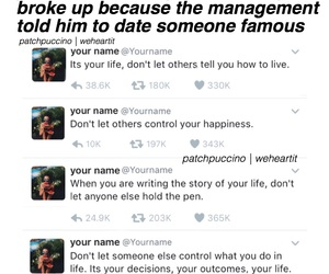 management, styles, and tweets image