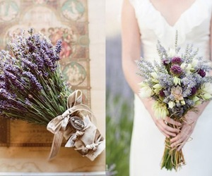 lavender, wedding, and свадьба image