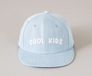 blue, hat, and cool kids image