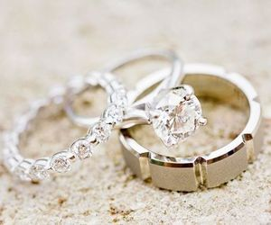 fashion, luxury, and rings image