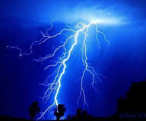 blue and electric blue image