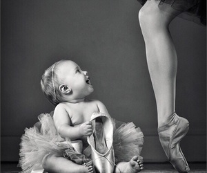 ballet and baby image