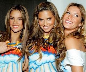 Gisele Bundchen, model, and Adriana Lima image