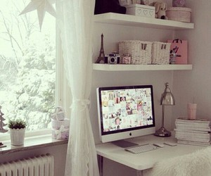 beauty, apple, and girly image