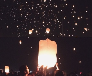lanterns, love quotes, and spoiled image