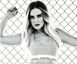 beautiful, b w, and perrie edwards image