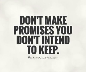 make, intend, and promises image