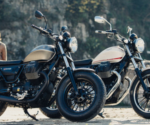 cafe racer, motorbike, and motorcycle image