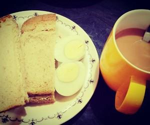 breakfast, tea, and mornings image