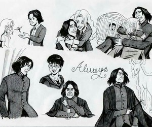 harry potter, always, and lily image