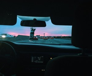 car, sky, and tumblr image
