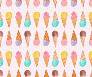 background, candy, and ice cream image