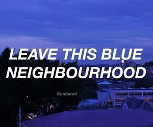 troye sivan, blue, and Lyrics image