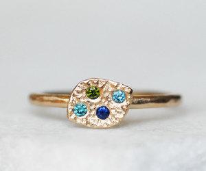 etsy, wedding band, and promise ring image