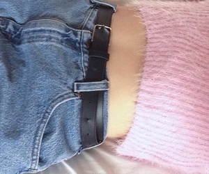 grunge, pink, and jeans image