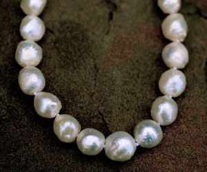 etsy, white pearl necklace, and unique pearls image
