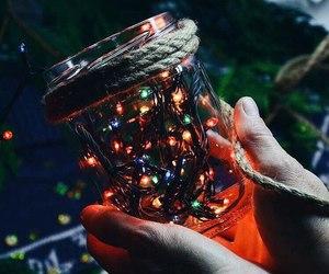 jar and lights image