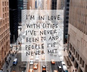 city, love, and people image
