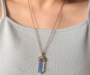 clavicle, fashion, and moonstone image