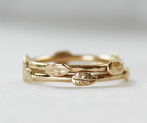 etsy, wedding band, and crown ring image