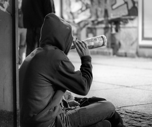 abuse, alcohol, and alone image