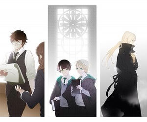 otp, drarry, and yaoi image